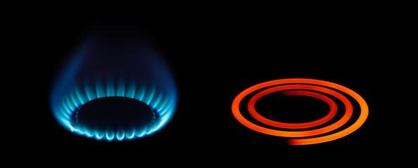 ガスを利用した機器とオール電化で利用される機器を比較した場合、どっちが安いのか検証していきましょう。